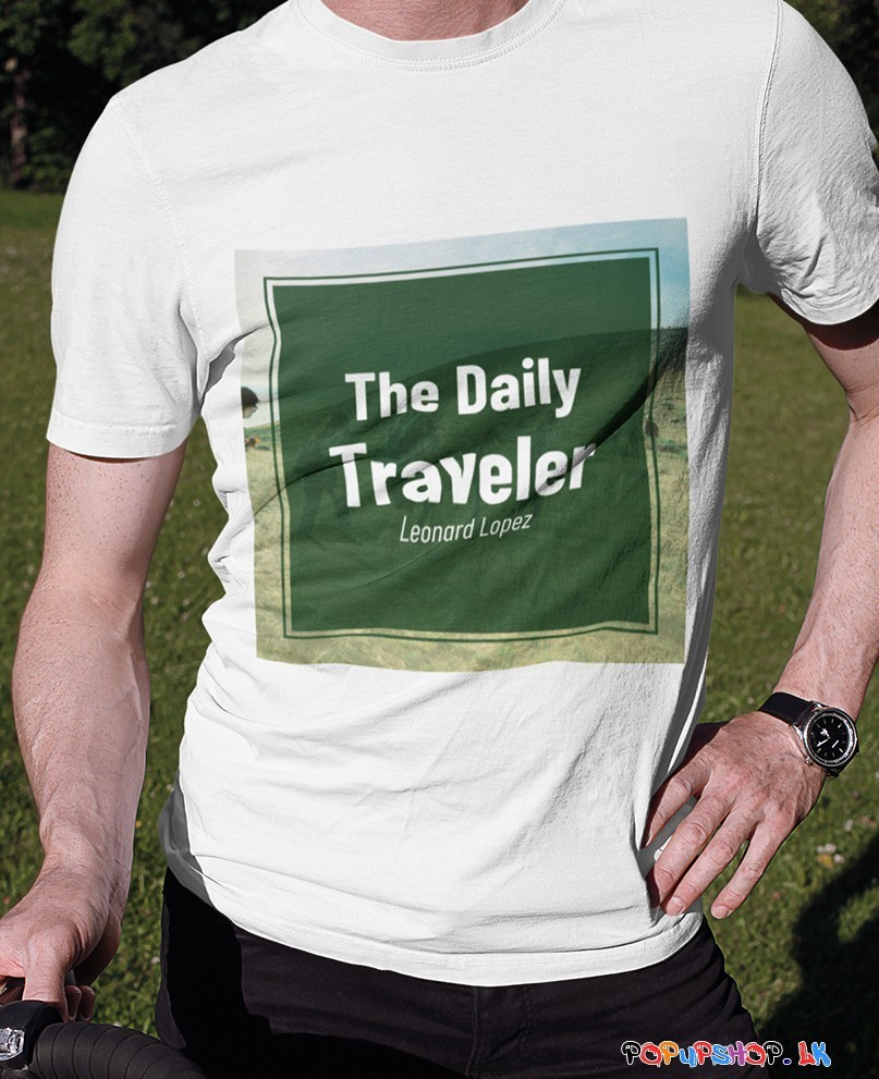 The Daily Traveler T-Shirt Sri Lanka