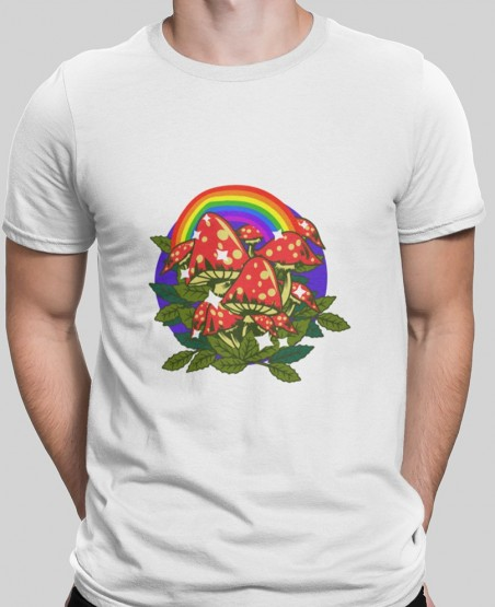 rainbow hippy t-shirt