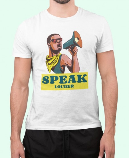 speak louder t shirt sri lanka
