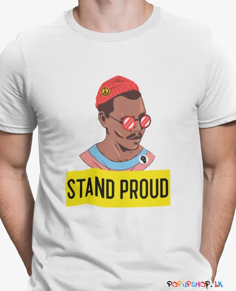 stand proud t shirt sri lanka