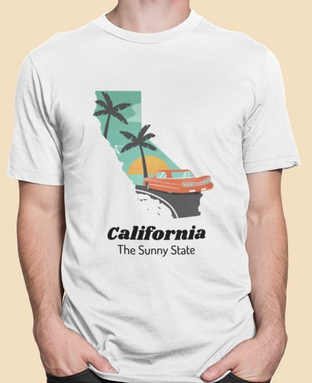California Sunny State T-Shirt