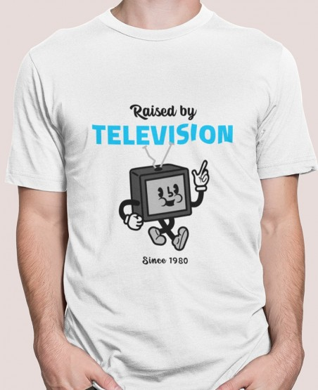 raised by television t shirt sri lanka