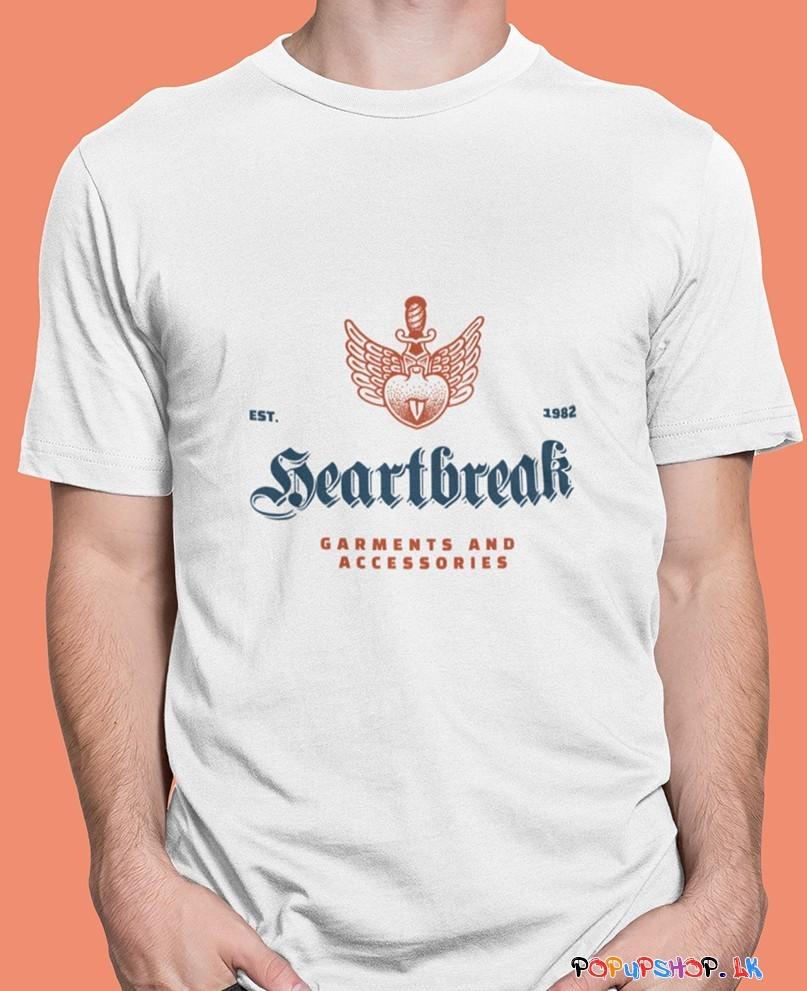 winged heart t-shirt sri lanka