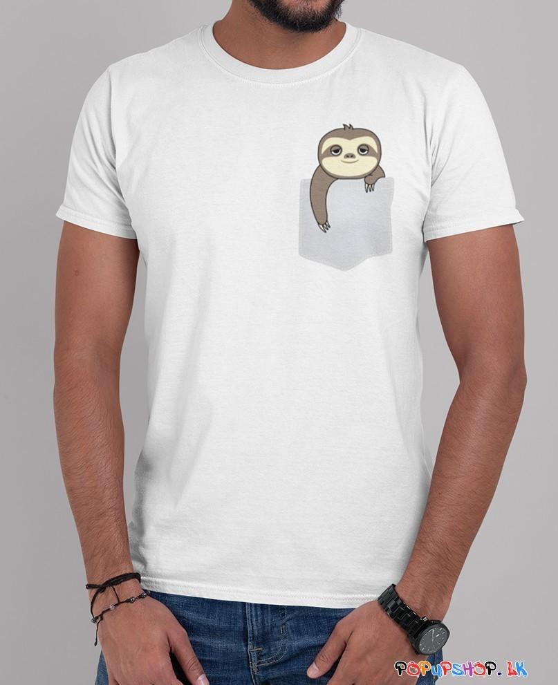 Loris Monkey Pocket T-Shirt