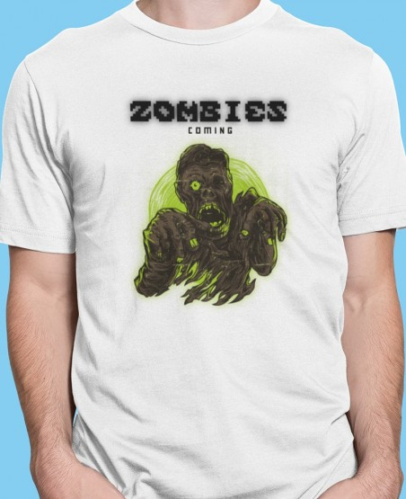 Zombies Coming T-Shirt