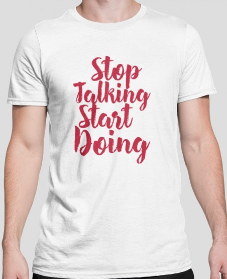 Stop Thinking Start Doing...