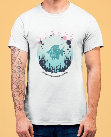 Find Peace Underwater T-Shirt