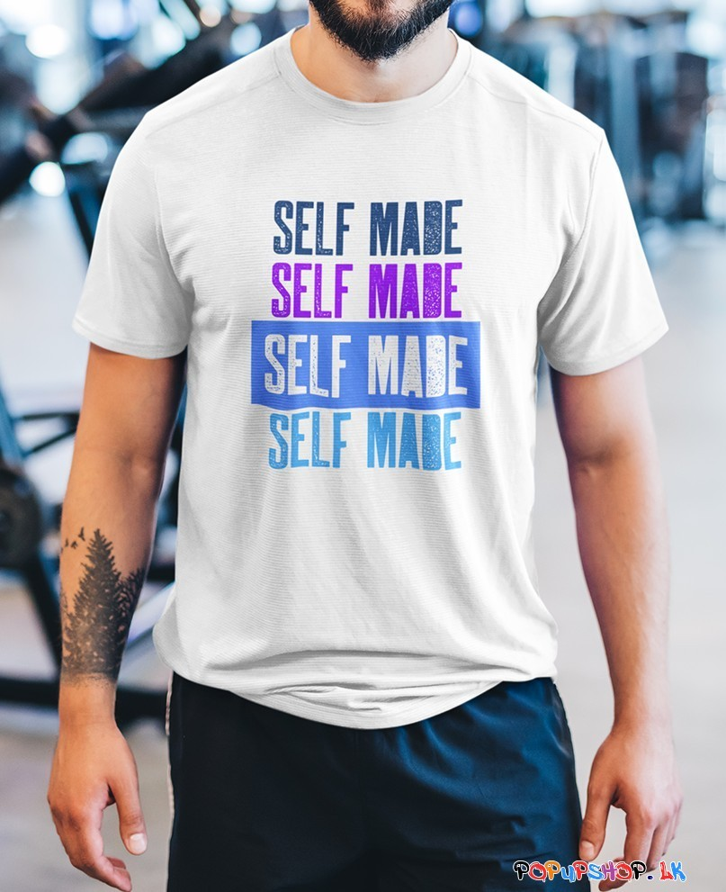 self made t shirt sri lanka