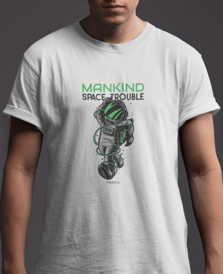 Mankind Space Trouble T-Shirt
