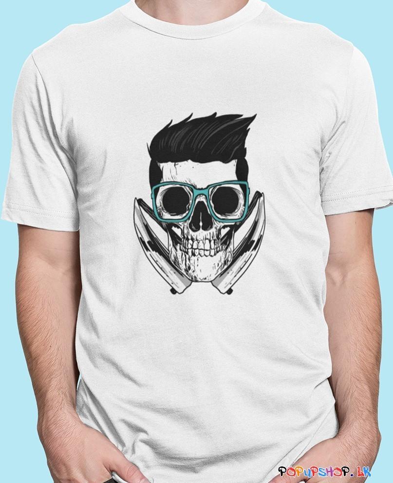 skull T-shirt sri lanka