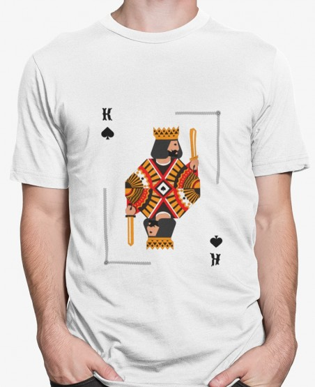 King Of Spades Playing Cards T-Shirt