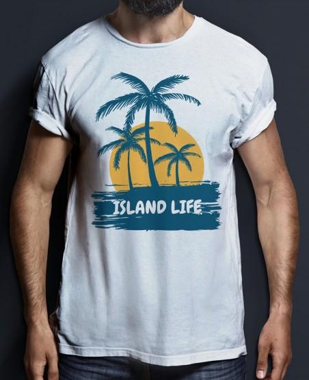 island life sri lanka beach t shirt