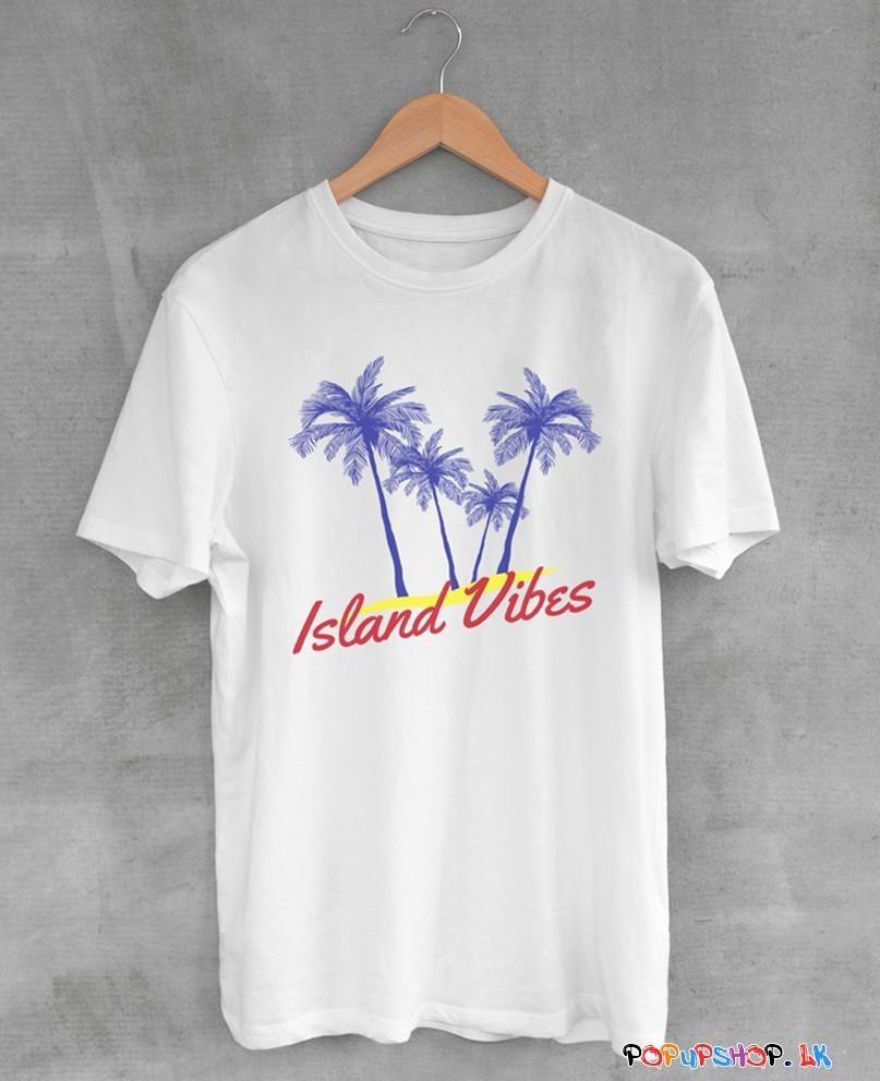 island vibes beach t-shirt sri lanka