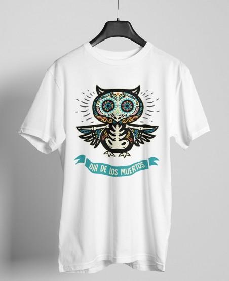 Mexican owl print t-shirt