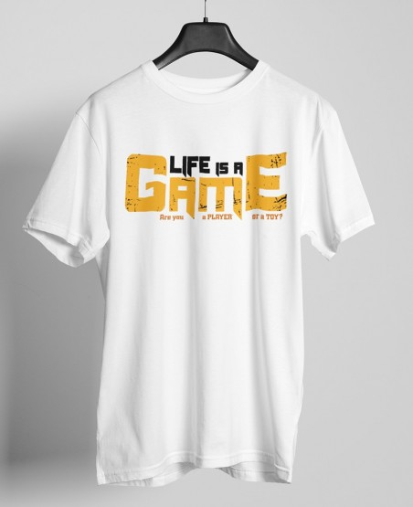 life is a game t-shirt Sri Lanka