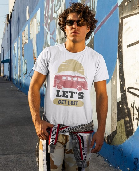 Let's Get Lost Van Life T-Shirt Sri Lanka