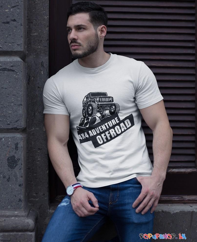 4 X 4 off-road defender t-shirt sri lanka