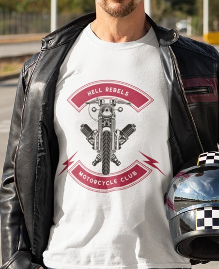 Hell Rebels Biker T Shirt