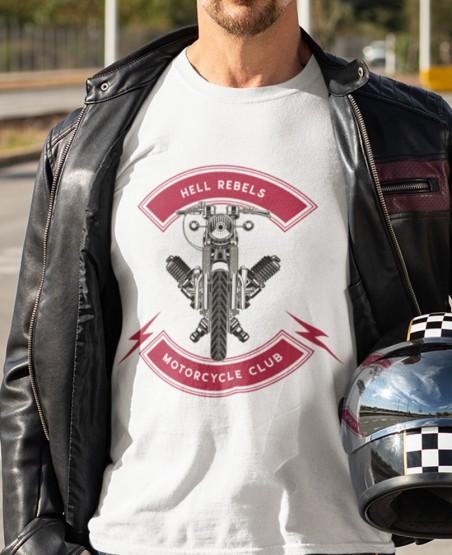 Hell Rebels Biker T Shirt
