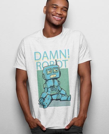 damn robot t-shirt sri lanka