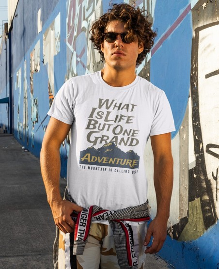 What Is Life is But One Grand Adventure T-Shirt Sri Lanka
