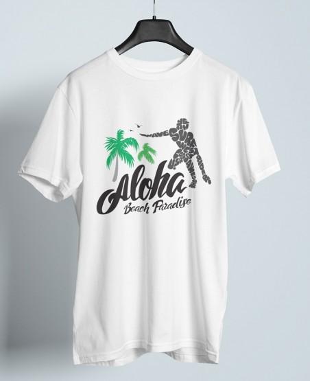 Aloha Beach Paradise T-Shirt Sri Lanka