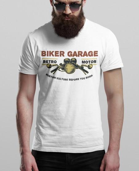 Biker Garage Retro Motor...