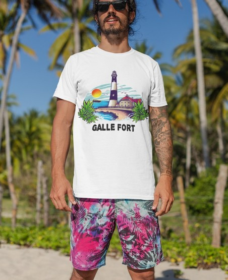 Gall Fort T-Shirt Sri Lanka