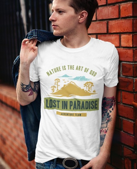 Nature Art Of God Lost In Paradise T-Shirt