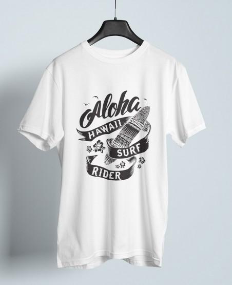 Aloha Hawaii Surf Rider T-Shirt Sri Lanka