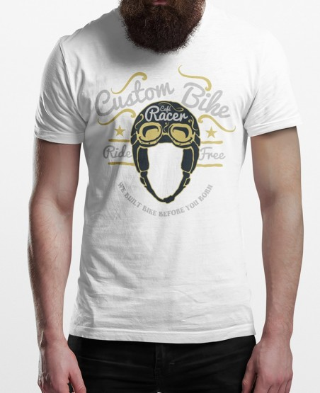 Custom Bike Cafe Racer T-Shirt
