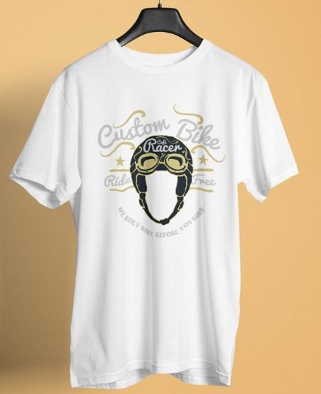 Custom Bike Cafe Racer T-Shirt