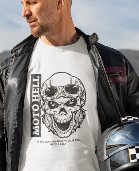 Moto Hell Biker T Shirt