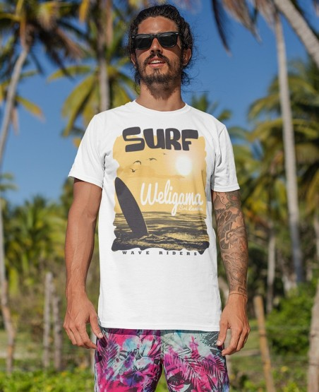 Surf Weligama Sri Lanka T-Shirt
