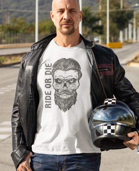Ride or Die Biker T Shirt
