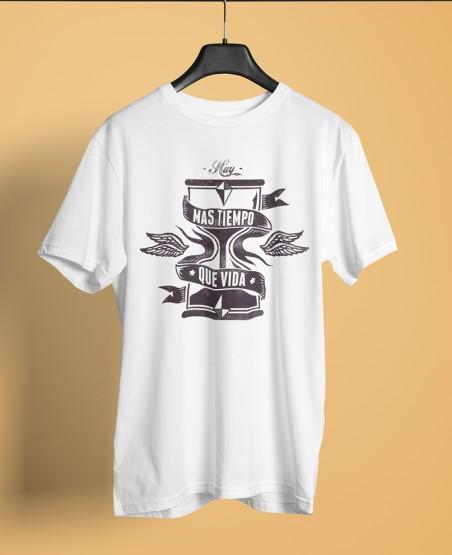 Mas Tiempo Que Vida T-Shirt