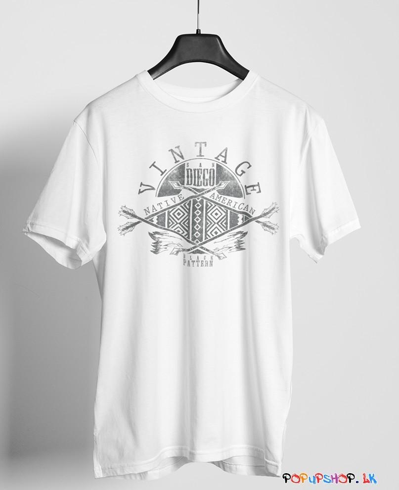 Vintage Native American T-Shirt Sri Lanka