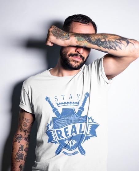 Stay Real T-Shirt Sri Lanka