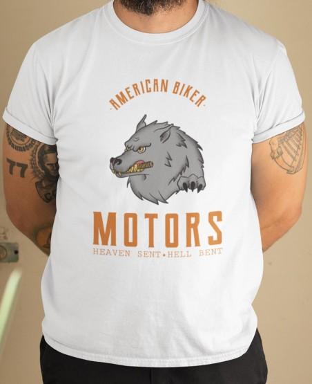 American Biker T Shirt