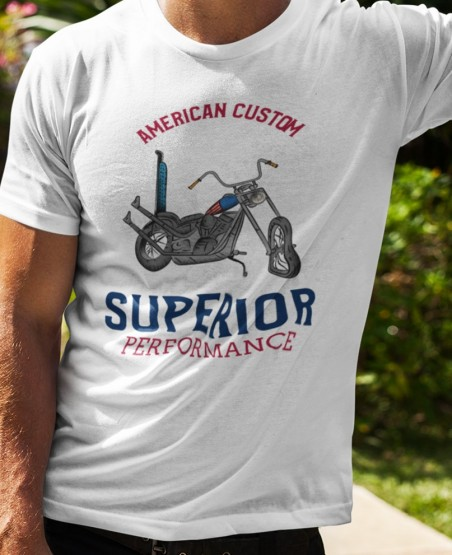 American Customs Biker T Shirt