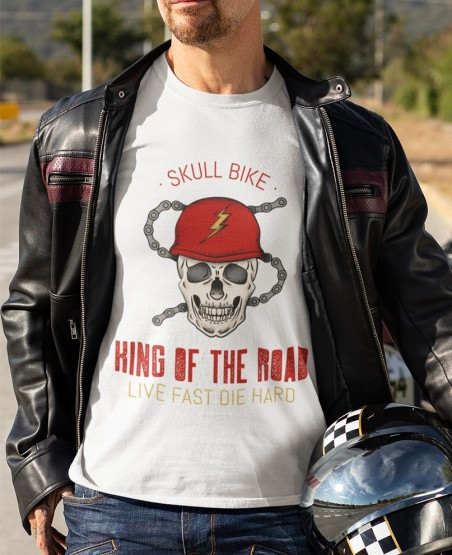 King Of the Road Biker T Shirt