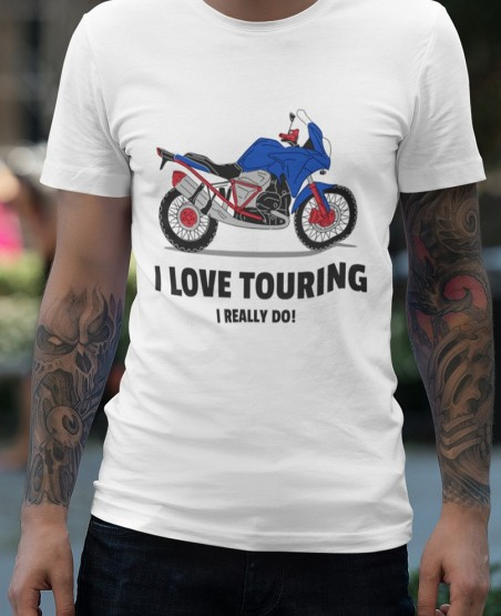 I Love Touring T Shirt