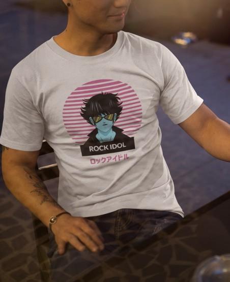 Rock Idol Japanese T Shirt