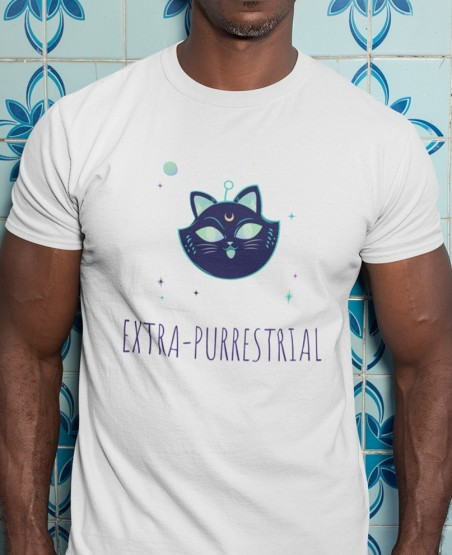 Extra Purrestrial  T Shirt