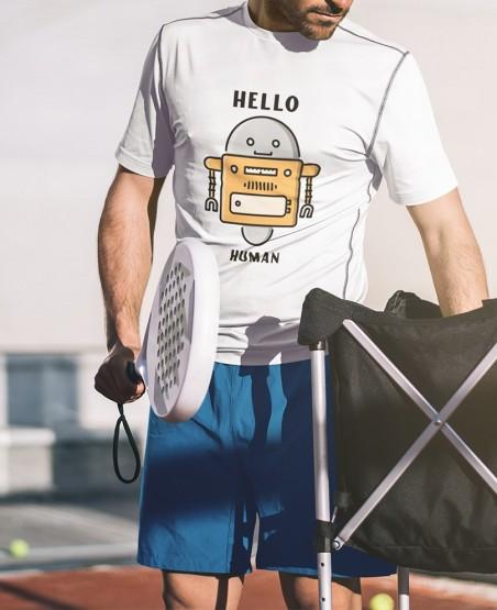 Hello Human T Shirt