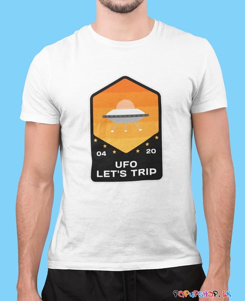 UFO lets trip T Shirt