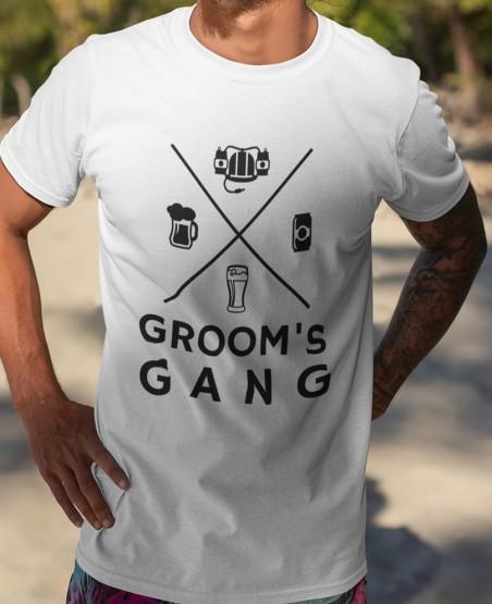 Groom's Gang Bachelor Party...