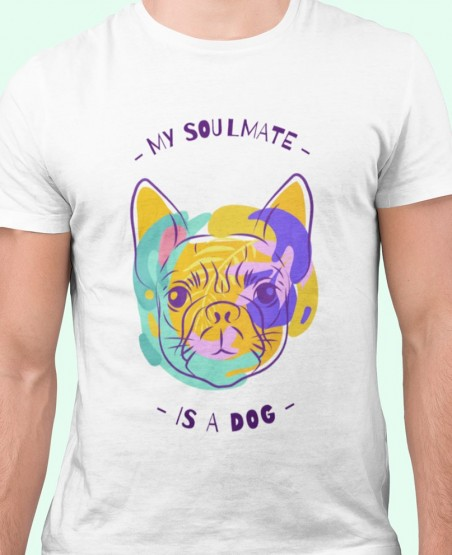 My Soul Mate is a Dog T-Shirt