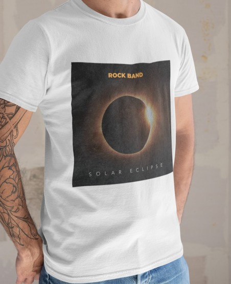 Rock Band Solar Eclipse T-Shirt