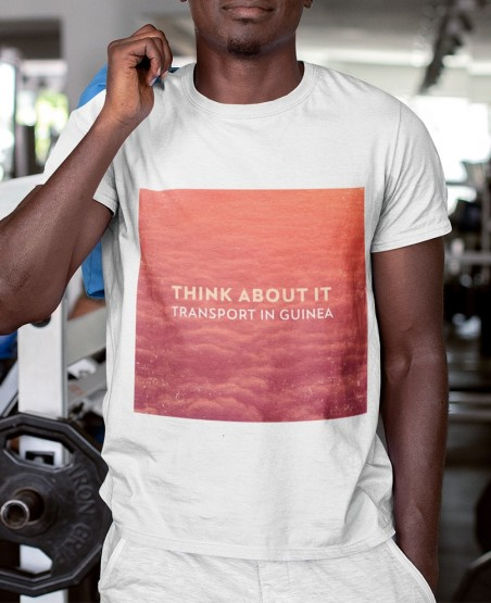 Think About it T-Shirt | Red Cloudy Sky Sri Lanka